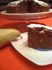 dolci,ricette,dessert,cacao,torta,pere