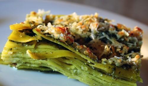 lasagne verdi,ricette,cucina,ricette lasagne,lasagne,lasagne al pestolasagne,pesto,ingredienti