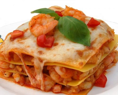lasagne ai frutti di mare, lasagne, cucina, cozze, vongole, pesce, primi piatti