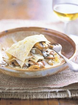 ricette,cucina,funghi,ricette funghi,lasagne ricette,besciamella,lasagne,funghi porcini